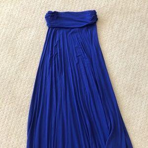 GAP Maxi Skirt - Bright Cobalt Blue